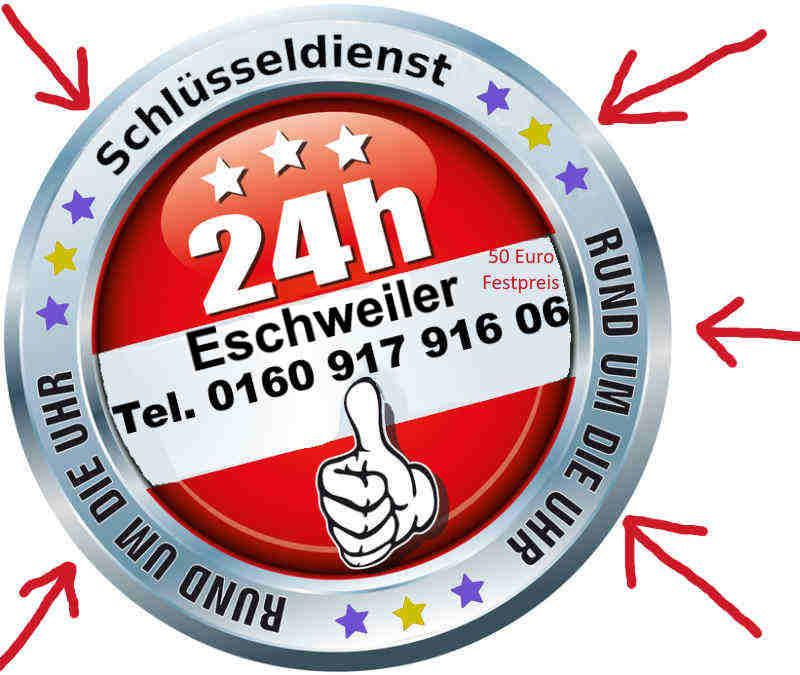 Schlüsseldienst Eschweiler Hastenrath Dürwiß Hehlrath Kinzweiler Neu Lohn Weisweiler zum Festpreis