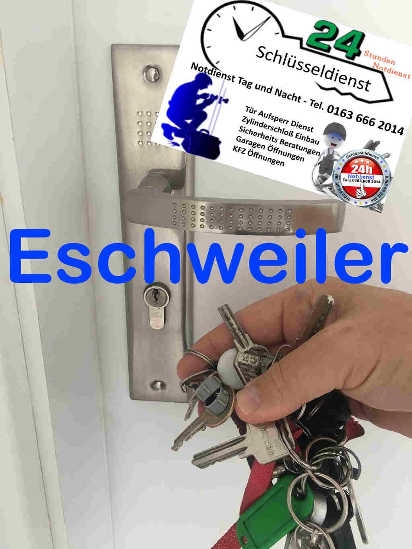 Eschweiler Schlüsseldienst mit 50 Euro Festpreis und kostenfreier Anfahrt Tag und Nacht Sonn und Feiertags
